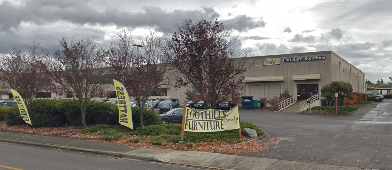 Foothills Family Furniture Store Front